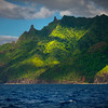 Glancing Moments Of Light - Na Pali Coastline, Kauai, Hawaii