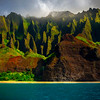 Tropical Paradise Moments - Na Pali Coastline, Kauai, Hawaii