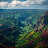 Up The Heart Of The Valley - Waimea Canyon, Kauai, Hawaii