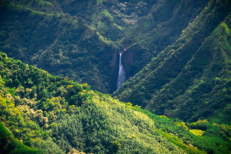 Beginning Of Waterfall Valley - Waimea Canyon, Kauai, Hawaii