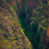 Deep Caverns Where Waterfalls Flow - Waimea Canyon, Kauai, Hawaii