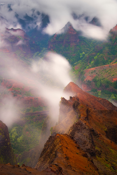 Inside The Heart Of The Canyon - Waimea Canyon State Park, West Side, Kauai