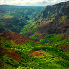 All The Variety Of Colors In The Valley - Waimea Canyon, Kauai, Hawaii