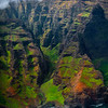 Looking Closer At The Small Corners Of The Na Pali Coast - Na Pali Coastline, Kauai, Hawaii