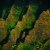 Diagonal Moments Of Light - Na Pali Coastline, Kauai, Hawaii