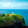 Kilauea Ligthouse In Afternoon Light - Kilauea Lighthouse, North Shore, Kauai, Hawaii