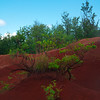 The Red Hills Of Waimea - Red Dirt Waterfall, Waimea, Kauai, Hawaii