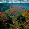 Right Down The Middle Of Waimea Canyon - Waimea Canyon, Kauai, Hawaii