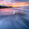 Sunrise Rushing Waves - Waimea Pier, Waimea, South Shore, Kauai