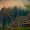 Mystery Mountain - Na Pali Coastline, Kauai, Hawaii