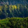 Flying Into The Valley Of Spires - Waimea Canyon, Kauai, Hawaii