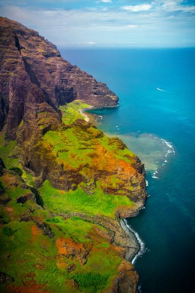 In And Outs Of The Na Pali - Na Pali Coastline, Kauai, Hawaii
