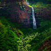 Cascading Steps Down The Cliff Face - Waimea Canyon, Kauai, Hawaii