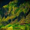 Rolling Valleys Within The Spires - Na Pali Coastline, Kauai, Hawaii