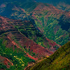 Crossing Paths In The Canyon - Waimea Canyon, Kauai, Hawaii