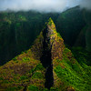 Standing Out On Its Own - Na Pali Coastline, Kauai, Hawaii