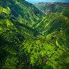 Looking Upwards Into The Higher Valley - Waimea Canyon, Kauai, Hawaii