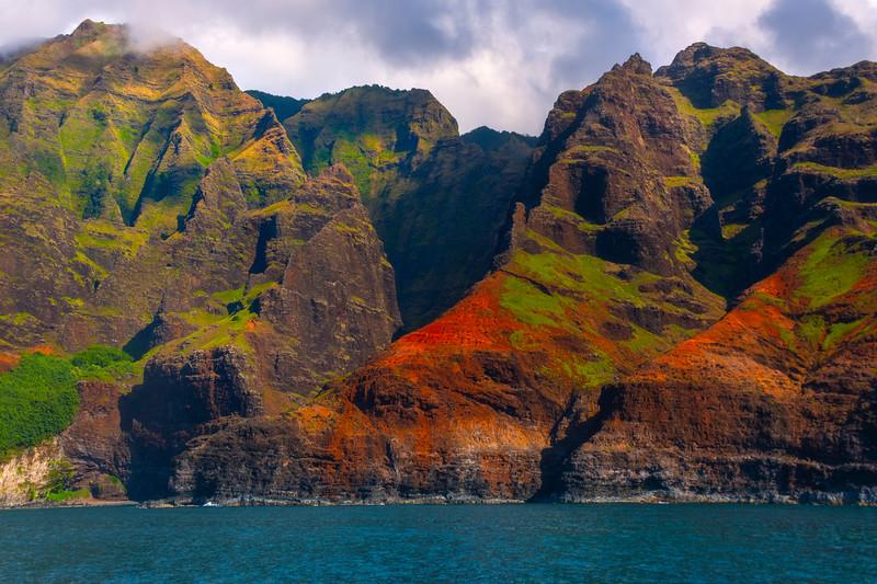 Peeling Away The Layers Of Time - Na Pali Coastline, Kauai, Hawaii