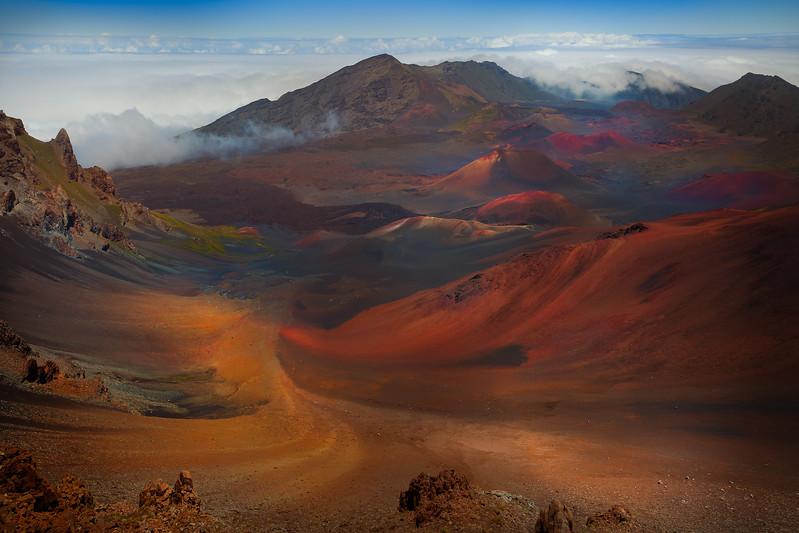 Maui Upcountry, Haleakala National Park, Haleakala Crater, Haleakala Rim Road, Maui, Hawaii