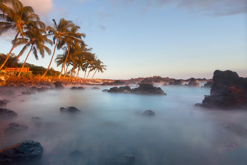 South Maui, Secret Cove Beach, Secret Beach, South Of Big Beach, Maui, Hawaii