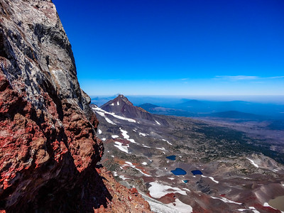 South Sister Summit Ledge