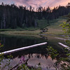 Sunset at Spirit Lake