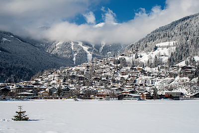 Zell Am See In Winter