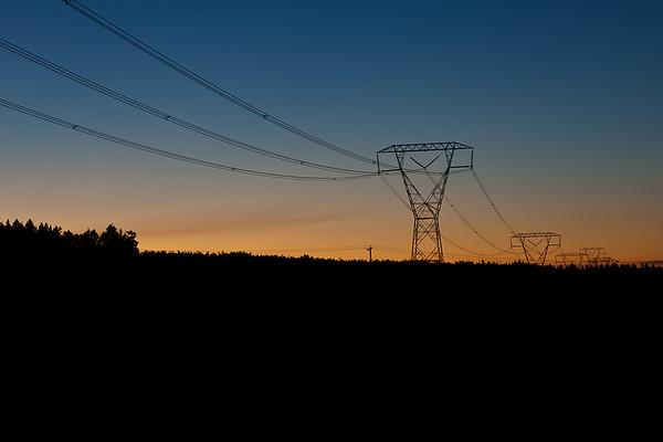 Powerlines_Sunset
