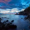 Sunset Skies - Lime Kiln Lighthouse, San Juan Islands, WA