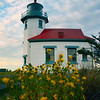 Point Robinson Lighthouse  and Flowers