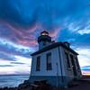 Looking Up At The Skies - Lime Kiln Lighthouse, San Juan Islands, WA