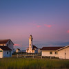 Point Wilson Lighthouse Under The Twilight Sky