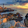 Portland Head Lighthouse Sunrise - Portland Head, Maine