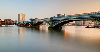 Cremorne Bridge Over The Thames
