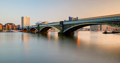 Cremorne Bridge Over The Thames