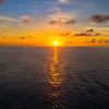 Last Sunset Of Cruise In Cozumel