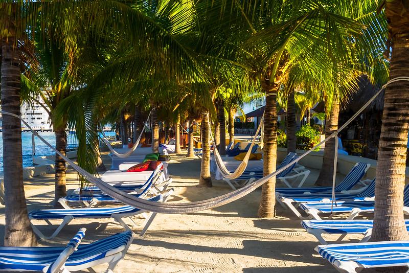 Hammock Rest In Cozumel