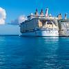 Ships At Pier In Cozumel