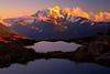 Double Tarns Below Mt Baker - North Cascades National Park, WA