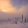 Snowhill Mystery On Mt Rainier - Paradise Area, Mount Rainier National Park, WA