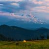 Stunning Views Of Mt Adams From Snow Grass Flats, Goat Rocks Wilderness, Gifford Pinchot SP_WA_