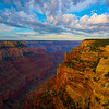 Right Down The Middle Of The Canyon - North Rim, Grand Canyon Nat Park, Arizona