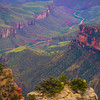 The River Valley Of The Canyon - North Rim, Grand Canyon Nat Park, Arizona