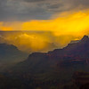 Colors Of Rushing Lights In A Storm - North Rim, Grand Canyon Nat Park, Arizona