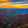 Valley Of The Grand Canyon At Sunrise - North Rim, Grand Canyon Nat Park, Arizona