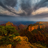 Wotan's Throne Thunder Clouds - North Rim, Grand Canyon Nat Park, Arizona