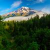 Mount Rainier From Pinnacle Peak Trail