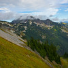 Looking At Unicorn Peak Pinnacle Peak Trail, Plummer Peak, Mt Rainier National Park, WA