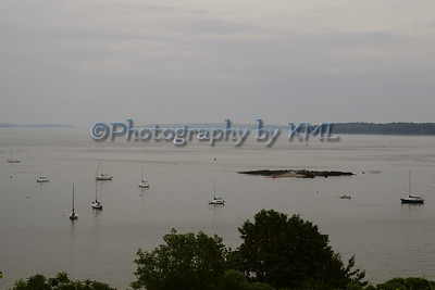 Casco Bay in the Fog