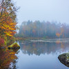 Surreal Misty Moments In Autumn